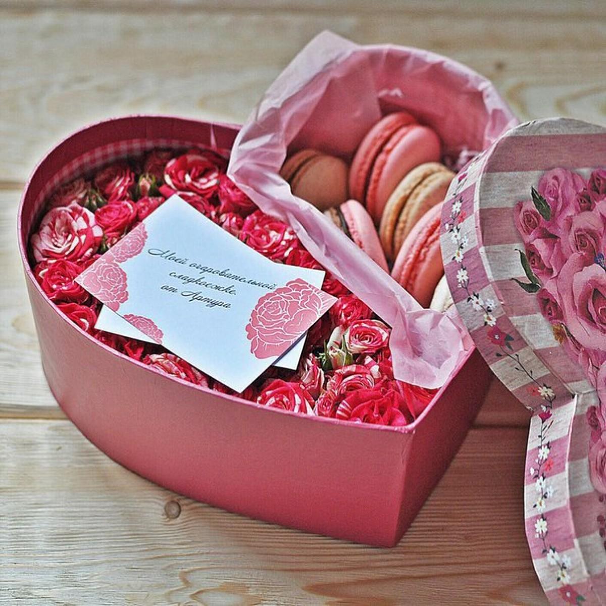 Коробка сладостей своими руками